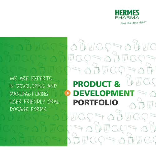 HERMES PHARMA product & development portfolio