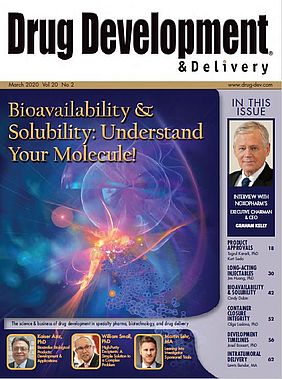 Improving the bioavailability and solubility of molecules - Special feature of Drug Development & Delivery, March 2020